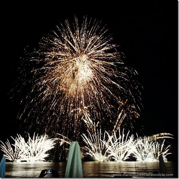 lignano pineta fuochi d'artificio agosto 2015