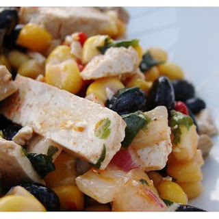 Black Bean, Corn, Pepper Salad