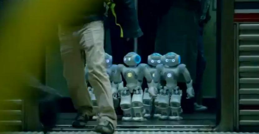 Robots on the Move in GE TV Commercial