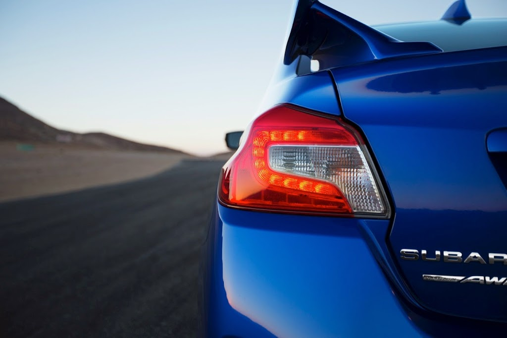 2015 Subaru WRX STI Launch Edition rr lamp