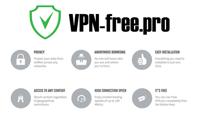 1. VPN-free.pro - Free Unlimited VPN