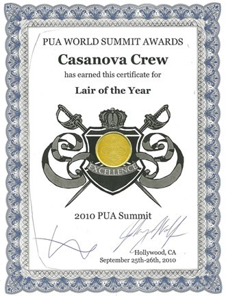 Casanova Crew Pua World Sammit Awards, Casanova Crew
