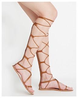 Valentino Aphrodite Gladiator Sandals vs Forever 21