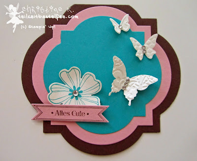 stampin up, inkspire_me #145, flower shop, itty bitty banners, famose fähnchen, schmetterling, butterfly, window frames