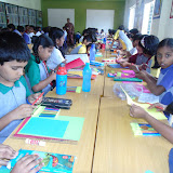 """Poster Making on As a part of the June Month profile focus theme """"CARING"""" and the CCA program we hav"""