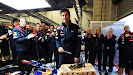 Mark Webber's birthday turned 34