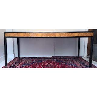 Birdseye Maple Modern Table/ Desk