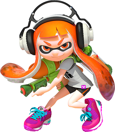 Is Inkling Girl the freshest female game character this year