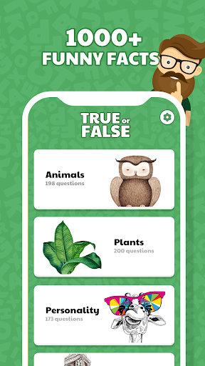 true or false quiz app - is that true? screenshot 1