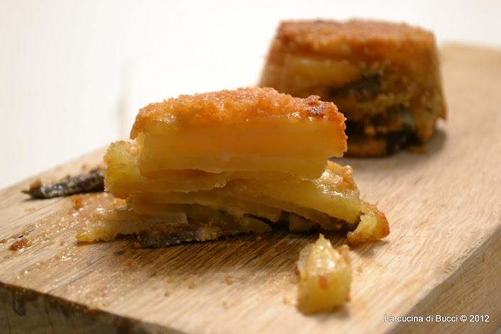 Tortini di daikon