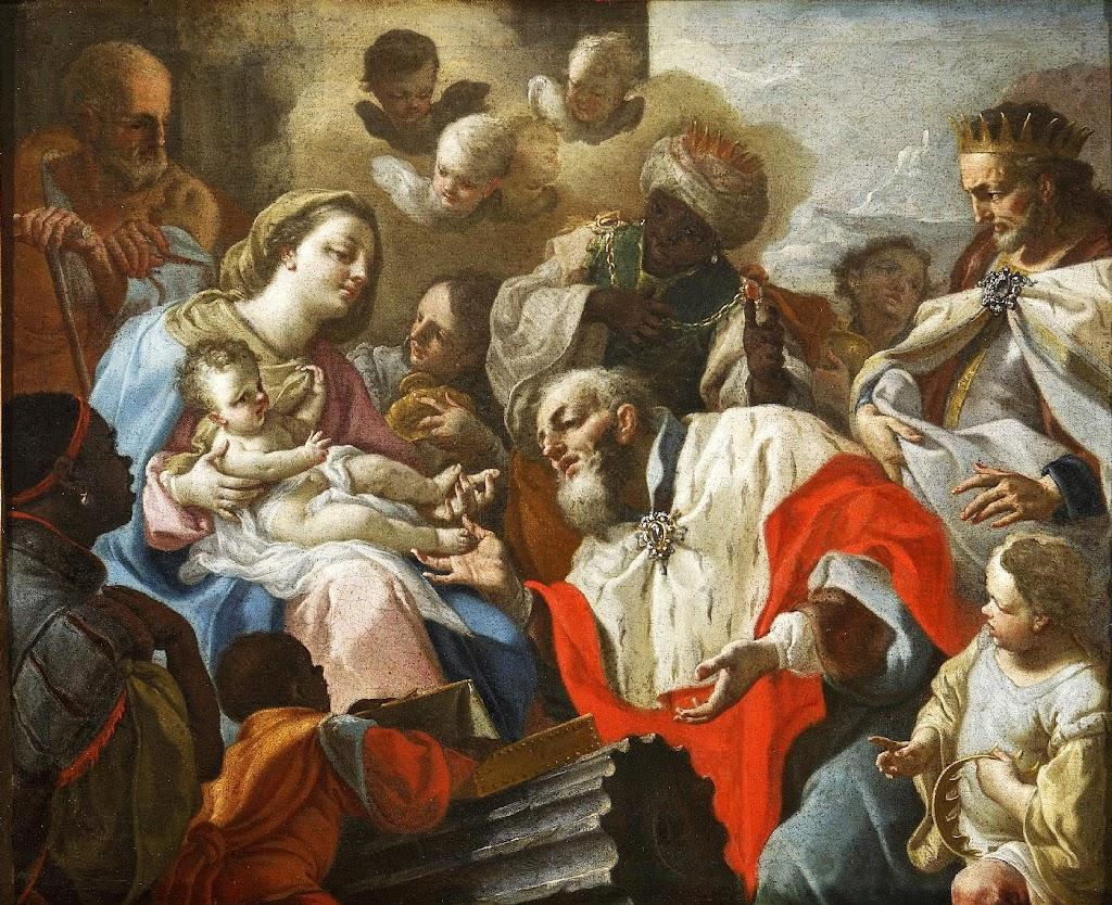 Francesco de Mura - L'adorazione dei Magi