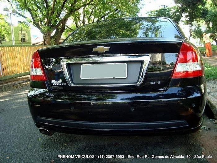 Chevrolet Omega 2004 Blindado - Preço R$ 33.500 - Traseira