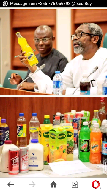 See The Recommendations Issued By House Of Reps For Carbonated Drinks In Nigeria