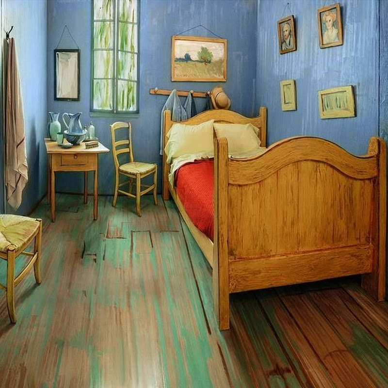 Want to Spend a Night in Van Gogh's Bedroom?