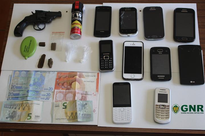 Lamego – Detenção de oito pessoas por tráfico de estupefaciente