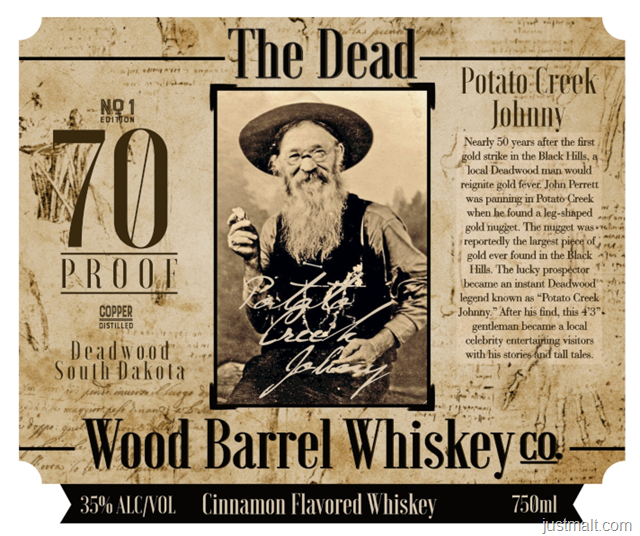 Deadwood Distillery The Dead No1 Edition