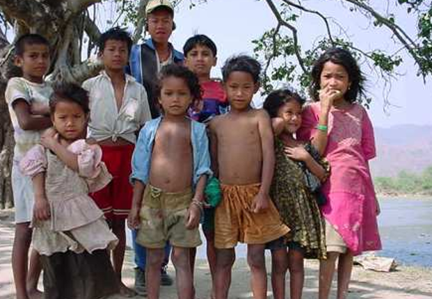 Enfants du Népal