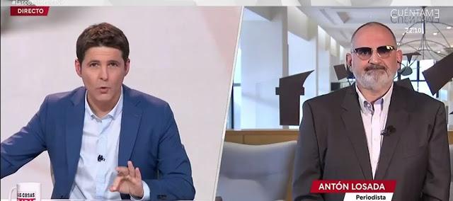 Jesús Cintora y Antón Losada