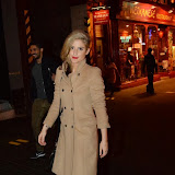 WWW.ENTSIMAGES.COM -   Katie Waissel  leaving       The Commitments - afterparty  London, October 8th 2013                       Photo Mobis Photos/OIC 0203 174 1069