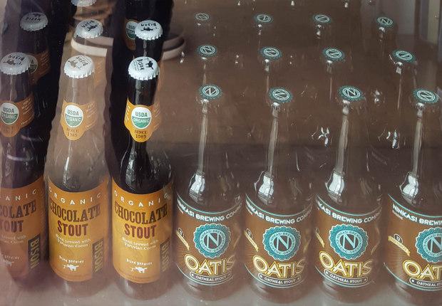 photo of bottles of craft beer