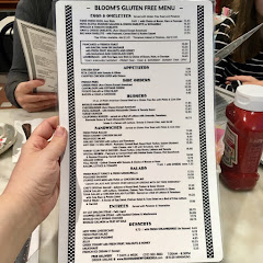 Great gluten free menu.