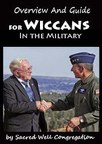 Cover of Sacred Well Congregation's Book Overview And Guide for Wiccans In the Military