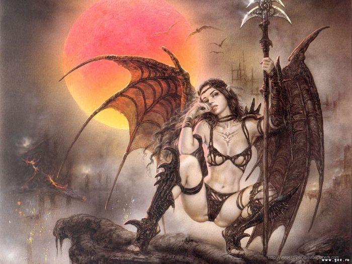 Fallen Demoness Of Wraith, Demonesses 2