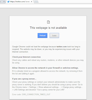 Twitter Won't Load - Google Product Forums