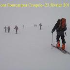 Mont Fourcat - 23 Février 2013