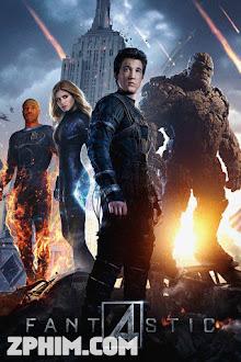 Bộ Tứ Siêu Đẳng - Fantastic Four (2015) Poster