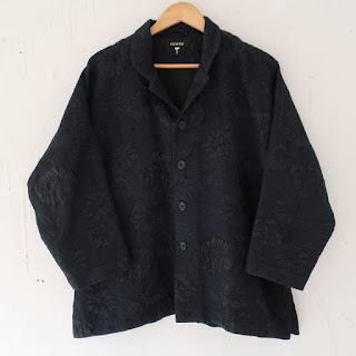 eskandar Brocade Swing Jacket