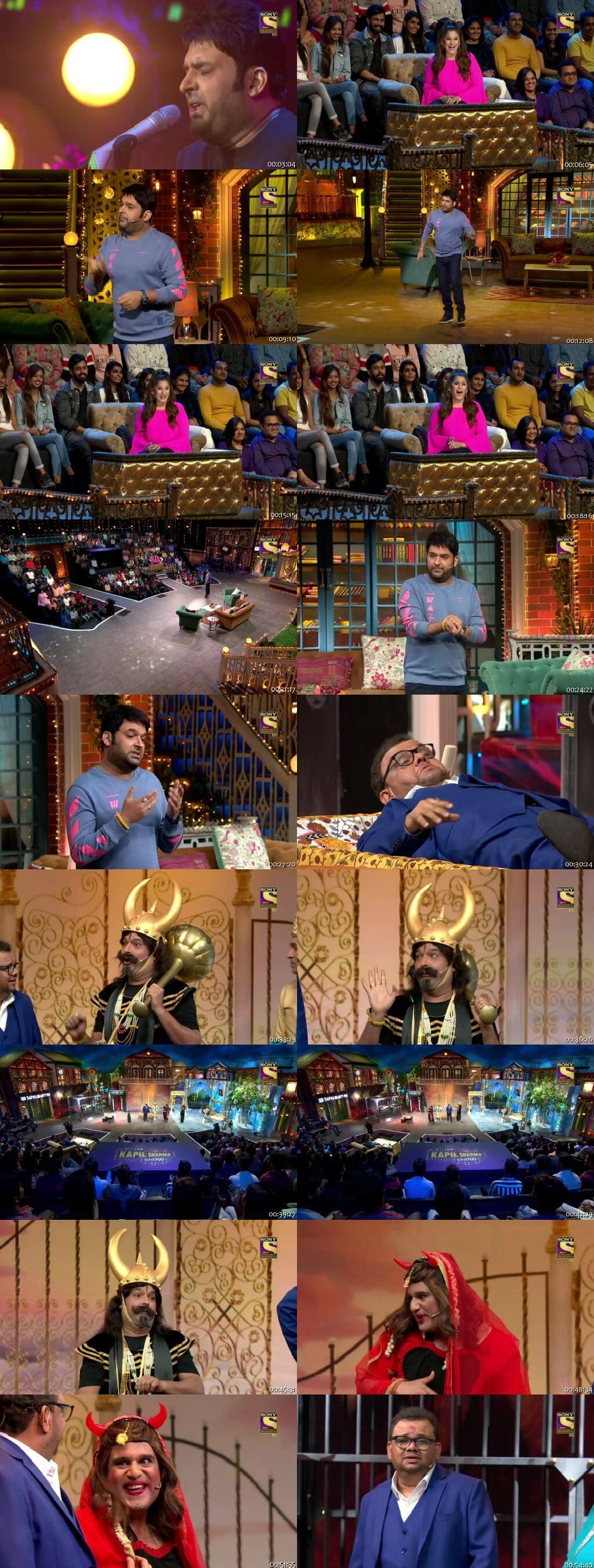 Screen Shot Of The Kapil Sharma Show 28th March 2020 Season 02 Episode 126 300MB Watch Online