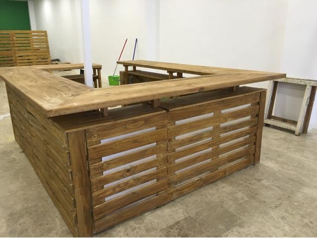 Mostrador - Mostradores de madera para negocios ...