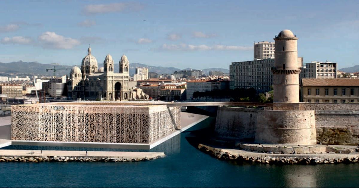 Marsiglia francia mucem by rudy ricciotti unusual architecture
