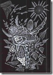 356 Zentangle Black Rose