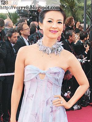 章子怡因演「玉嬌龍」而躍身國際影壇。