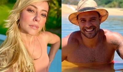 """""""Deu samba"""" no namoro de Paolla Oliveira e Diogo Nogueira"""