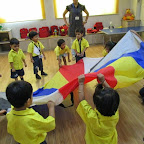 Parachute Actity (Playgroup) 2014-07-09