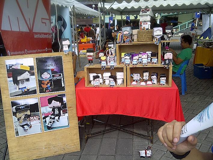 #TwtupKAMI Booth