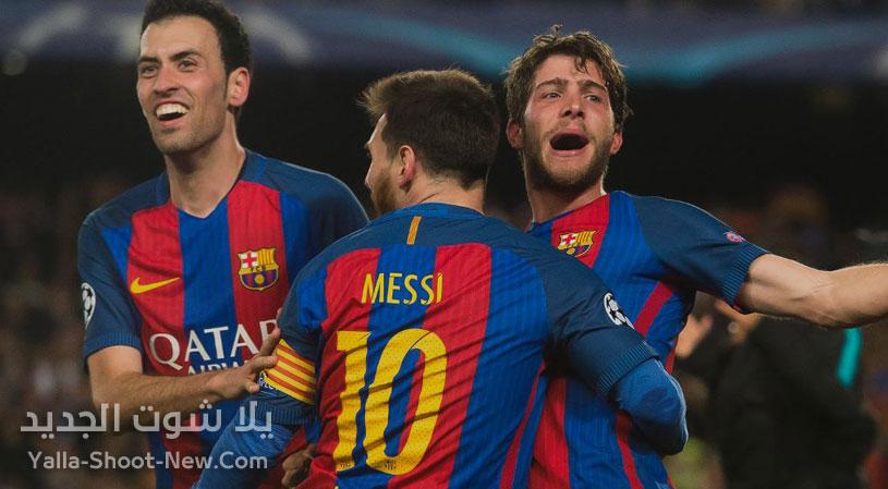 موعد مباراة برشلونة وباريس سان جيرمان