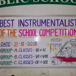2013-12-21 Best Instrumentalist of the school