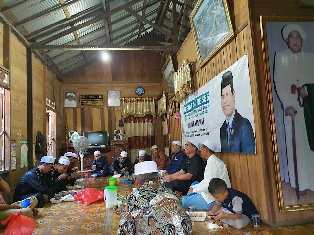 Banyak Terima Aspirasi, Rusdin Barhiwan  DPRD Balangan akan Kemas dalam Laporan Hasil Reses