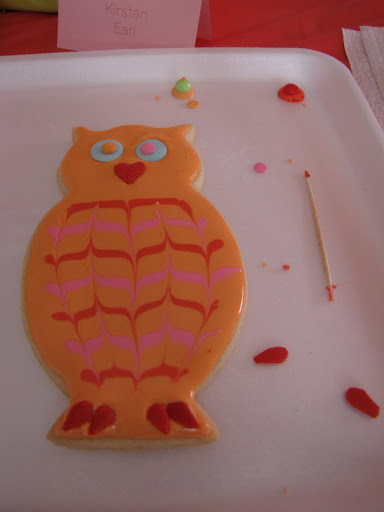 I got the hang of it by the owl. I could seriously make those feathers ALL DAY. So fun!!