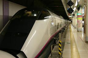 Bullet train, Ueno station