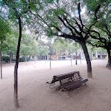 Sagrada Familia Park. Barcelona