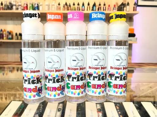 22528070 1972618493015094 168708579585564848 n thumb%255B6%255D - 【新製品】Bringer Japan E- liquidからVAPEスモークトリック用のリキッド「Trick Candy」(トリックキャンディ)を10/28土曜日に発売!60ml2400円の低価格路線