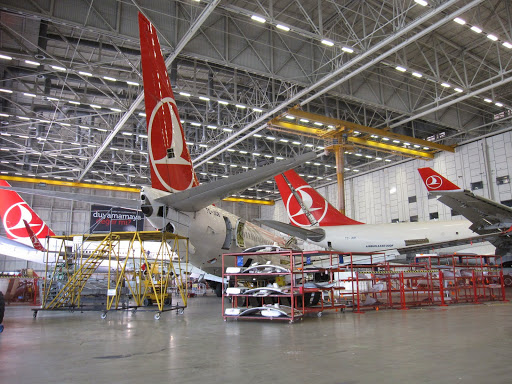 Turkish Technic repair Hangar, Istanbul