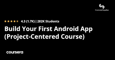 free Coursera course to learn Android Development