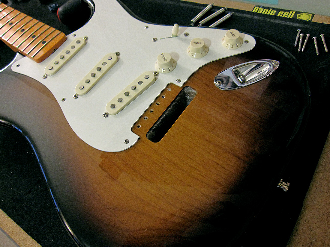 Review - Callaham Guitars Vintage S Model Strat Bridge and