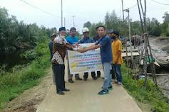 Terjalin Harmonis PT.Pulau Sambu Kuala Enok Dengan Pemdes Tanah Merah